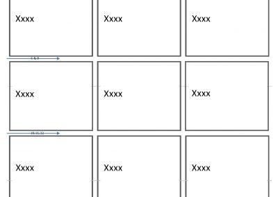 3×5 – 30 Brikker – 2 Sidet