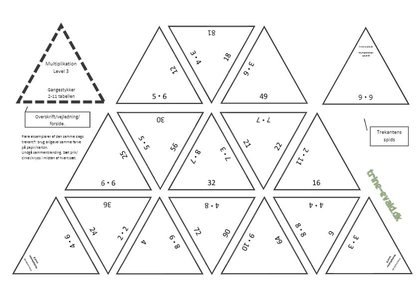 Multiplikation Level 3