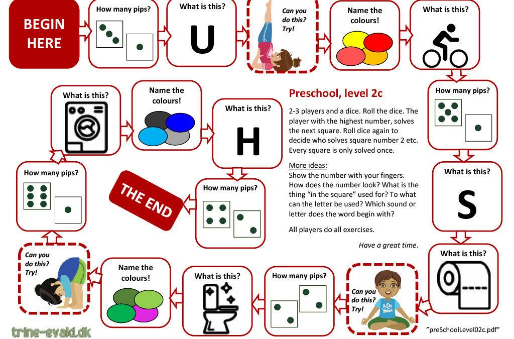 Preschool, Level 2c