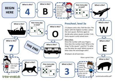 Preschool, Level 3a