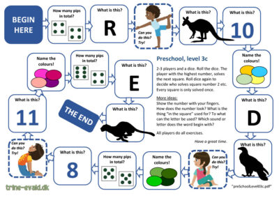 Preschool, Level 3c