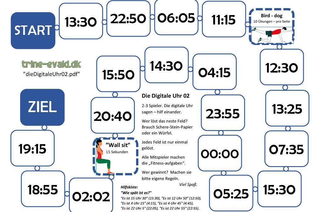 Die digitale Uhr 02