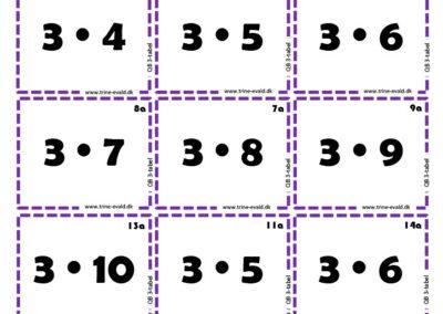 Q&B, 3 tabel