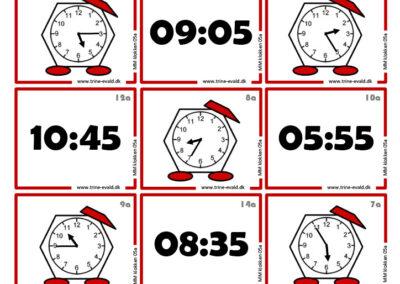 M&M, klokken 05a